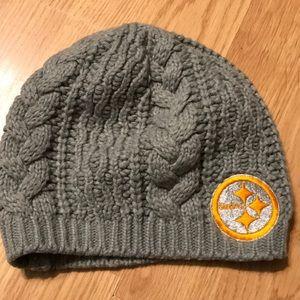 NFL Steelers women's winter hat